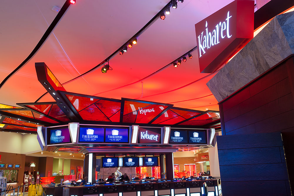 FireKeepers Casino Hotel - Kabaret by Moore Trosper Construction Co.