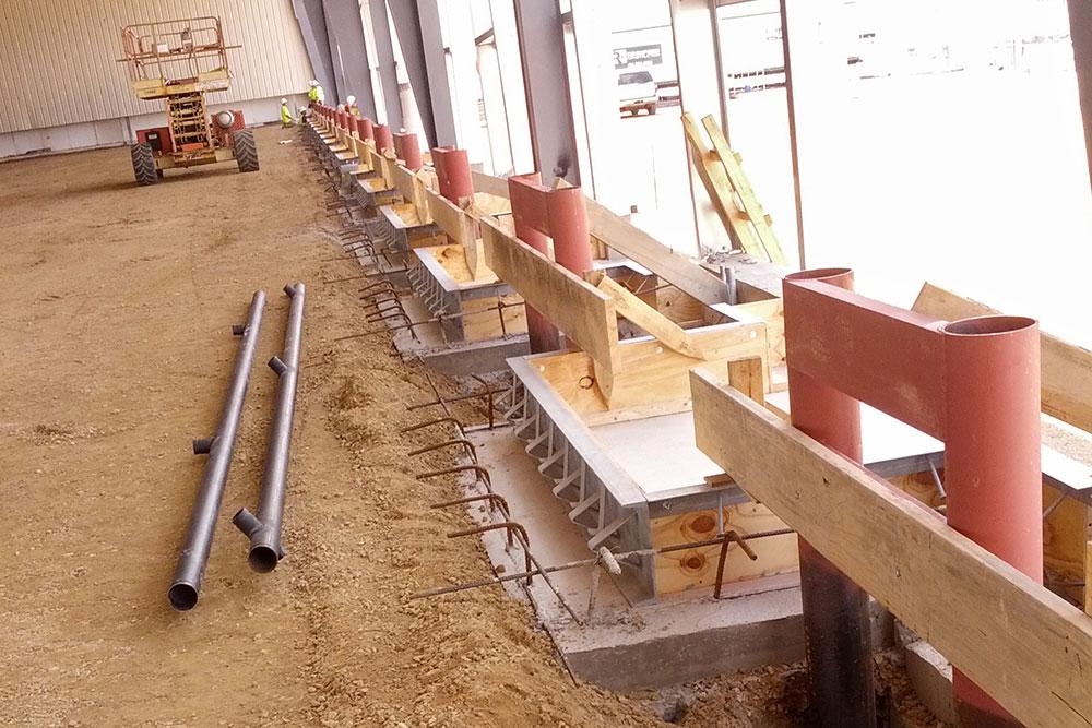 Meijer Distribution Center No. 93 concrete services by Moore Trosper Construction