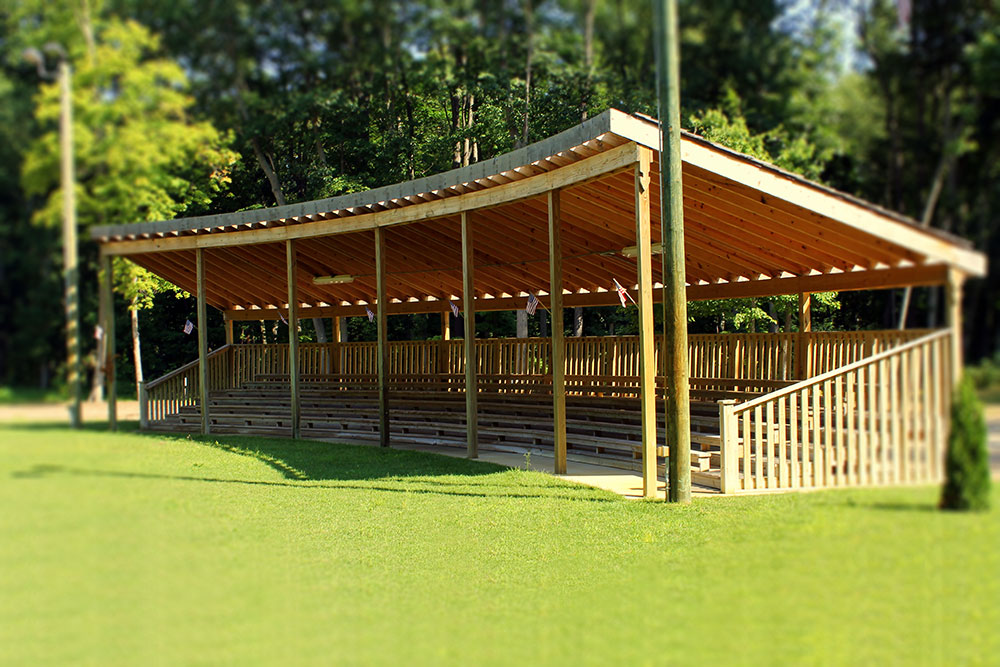 Nottawaseppi Huron Band of the Potawatomi Pow Wow Grounds by Moore Trosper Construction