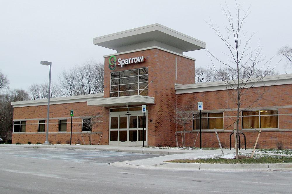 Sparrow Urgent Care building by general contractor Moore Trosper Construction
